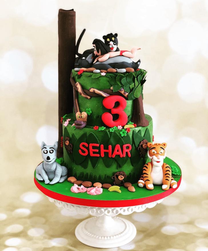 Exquisite Mowgli Cake
