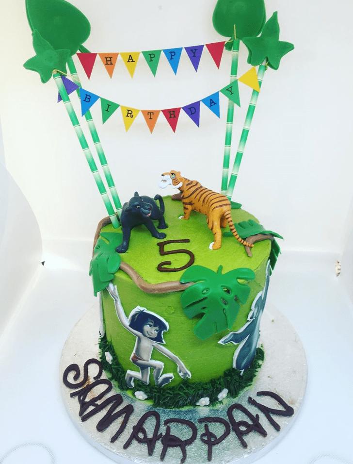 Fetching Mowgli Cake