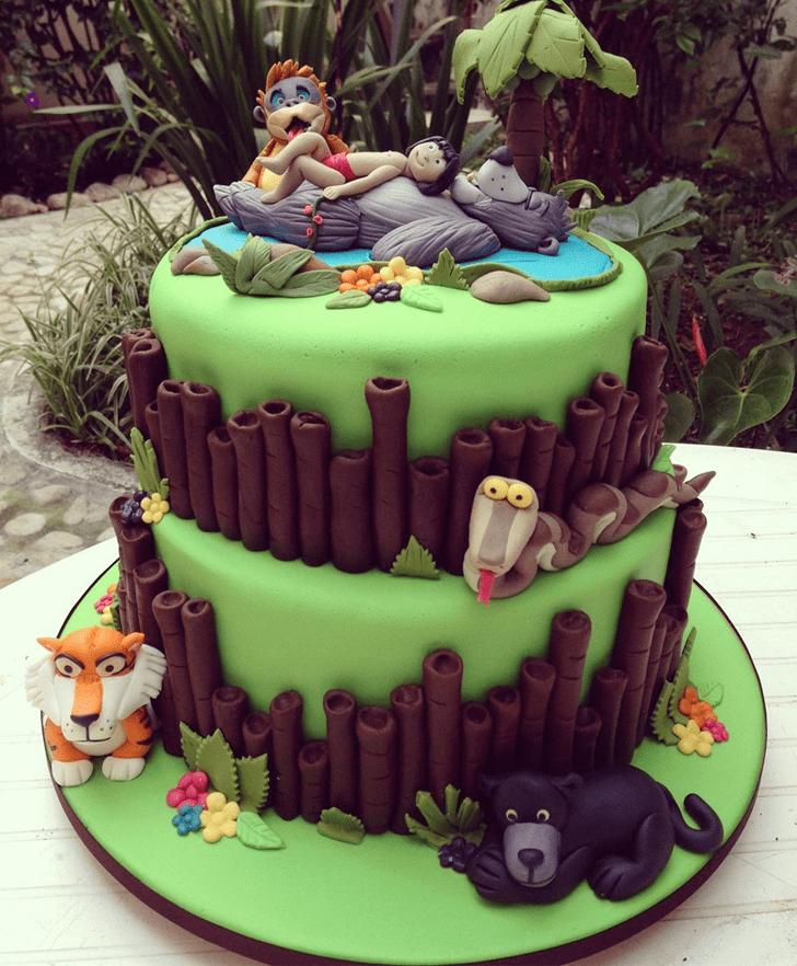 Handsome Mowgli Cake