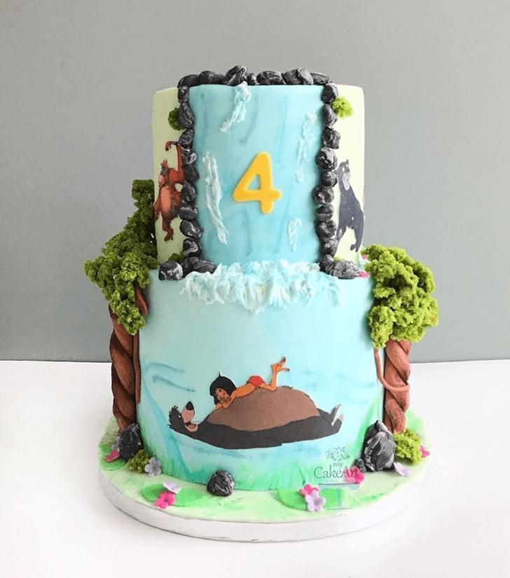 Inviting Mowgli Cake