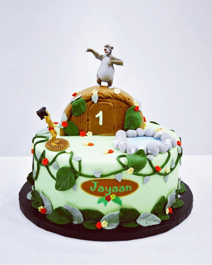 Lovely Mowgli Cake Design