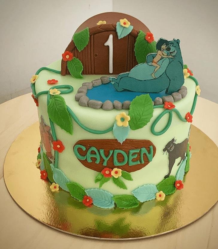 Mesmeric Mowgli Cake