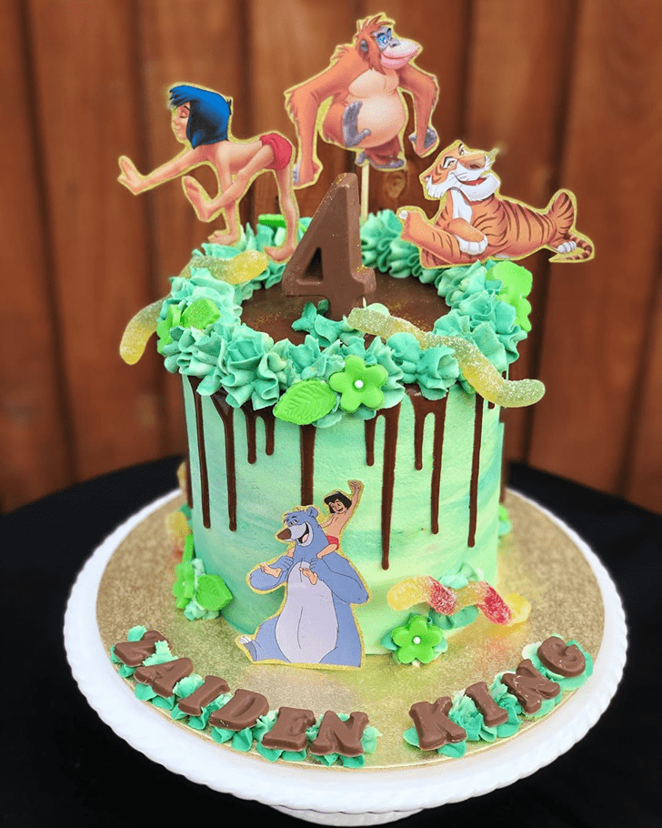 Resplendent Mowgli Cake