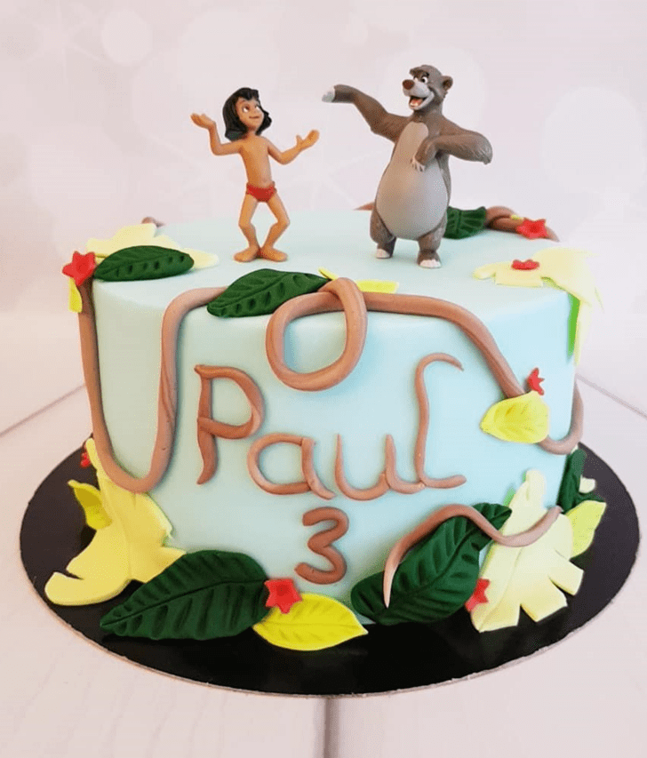 Shapely Mowgli Cake