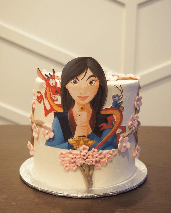 Captivating Mulan Cake
