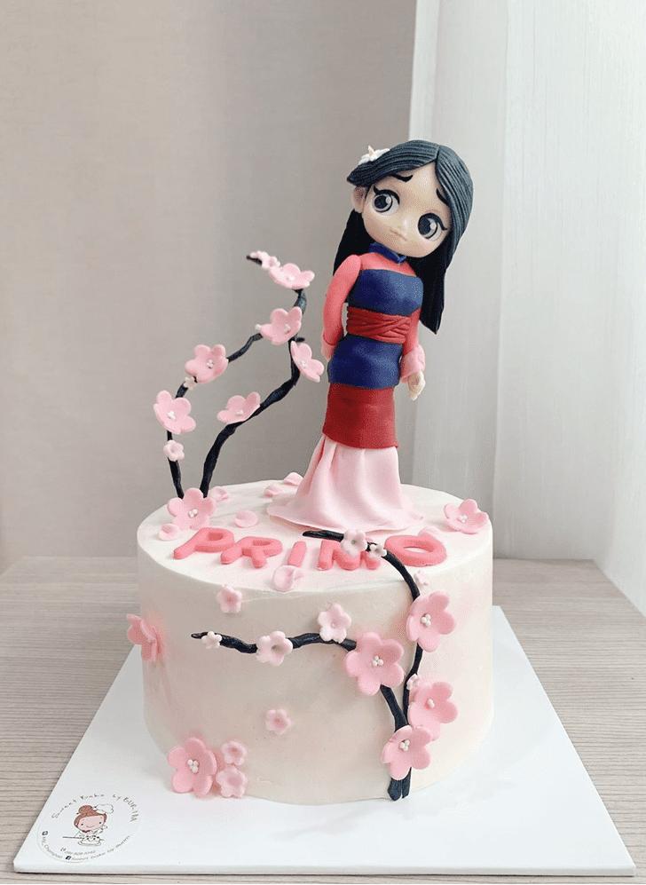 Enthralling Mulan Cake