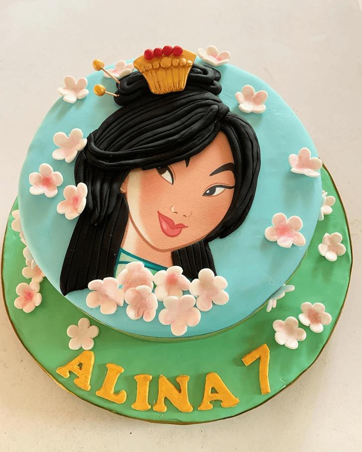 Excellent Mulan Cake