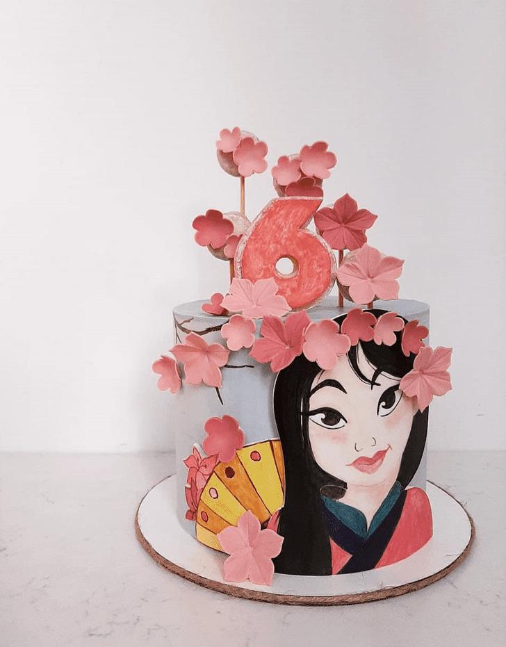 Fascinating Mulan Cake