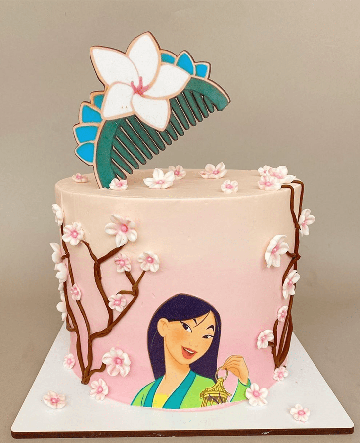 Grand Mulan Cake