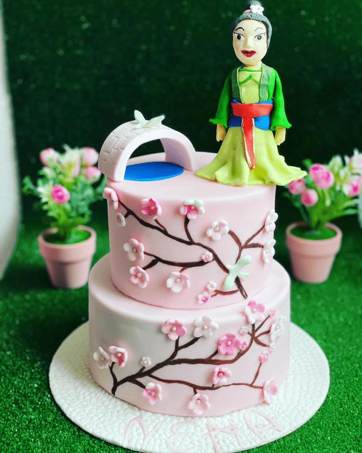 Magnetic Mulan Cake