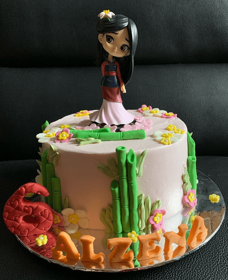 Magnificent Mulan Cake