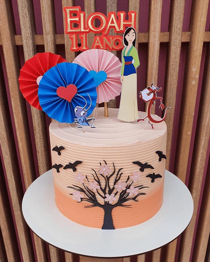 Marvelous Mulan Cake