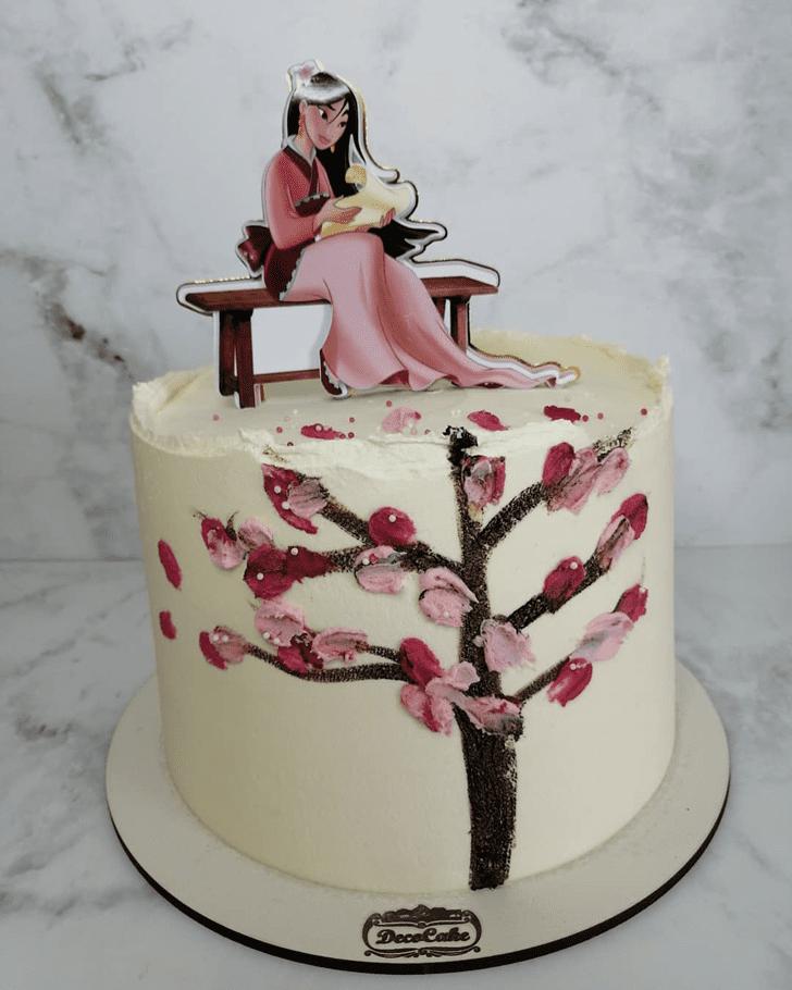 Pleasing Mulan Cake