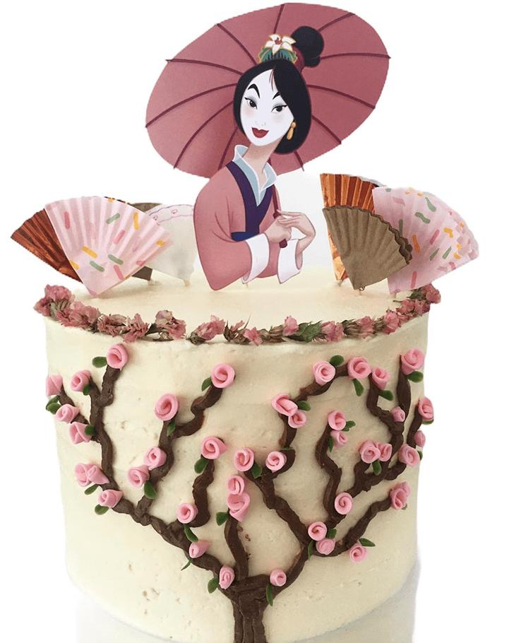 Ravishing Mulan Cake