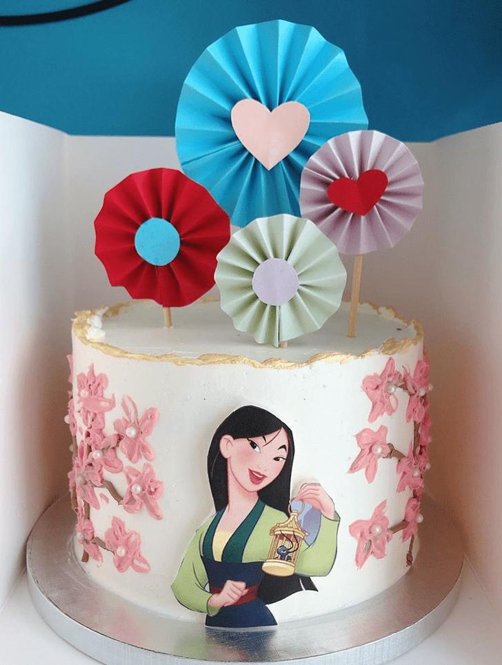 Slightly Mulan Cake
