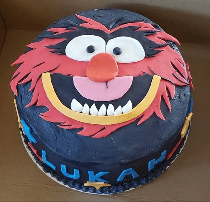 Admirable Muppets Cake Design