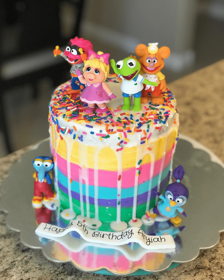 Adorable Muppets Cake