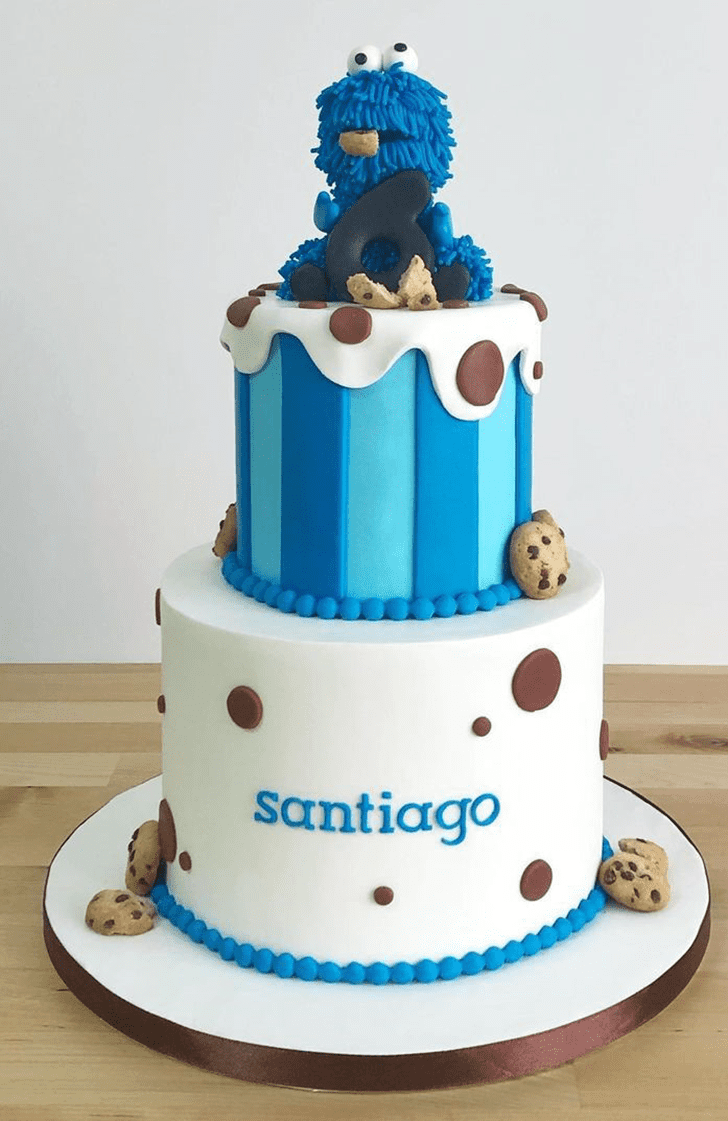 Alluring Muppets Cake