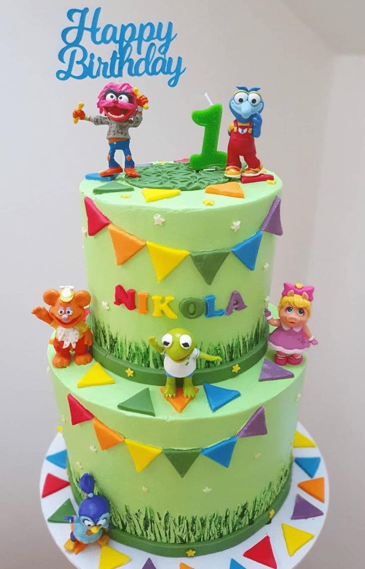 Beauteous Muppets Cake