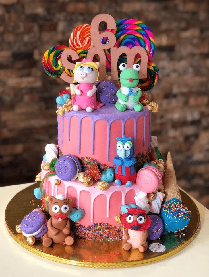 Charming Muppets Cake