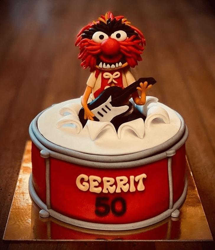 Classy Muppets Cake