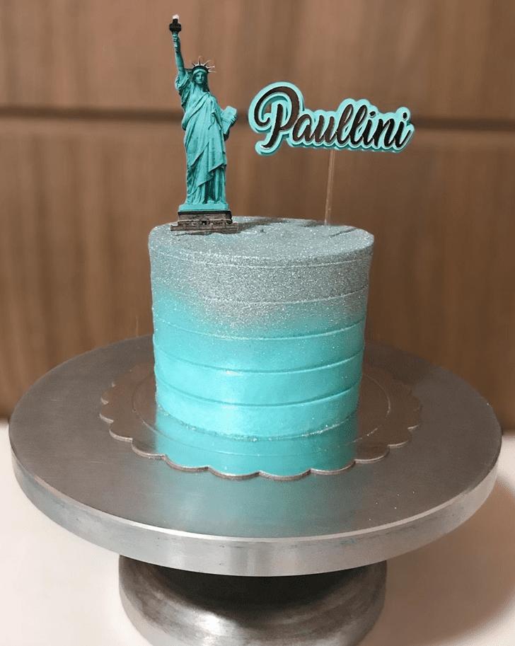 Adorable New York Cake