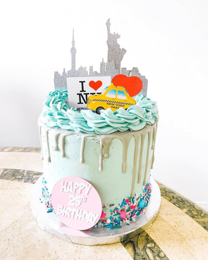 Alluring New York Cake