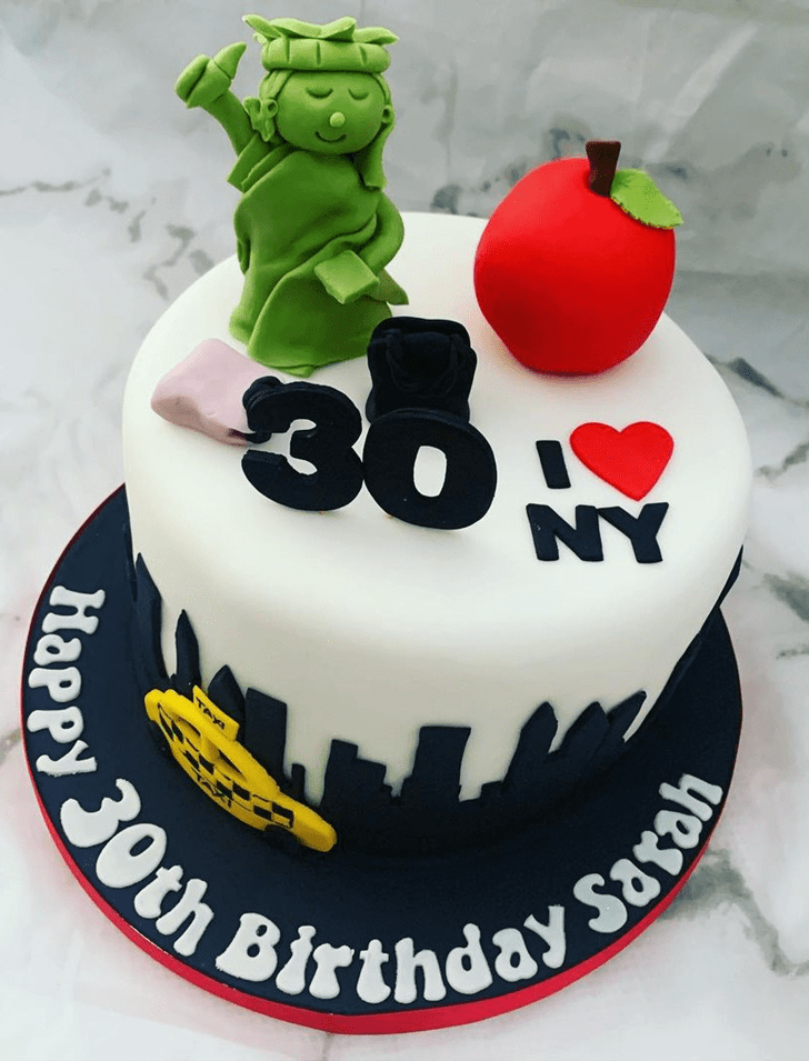Bewitching New York Cake
