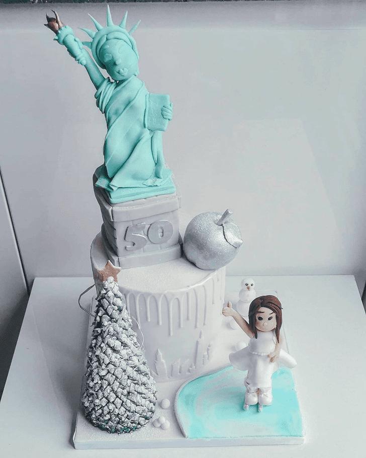 Charming New York Cake