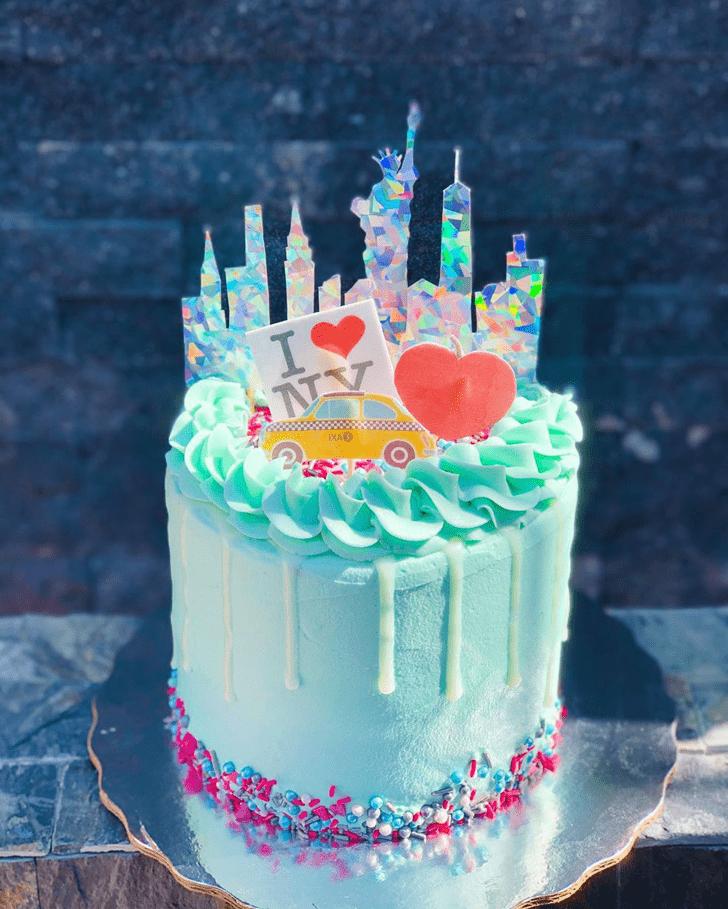Classy New York Cake