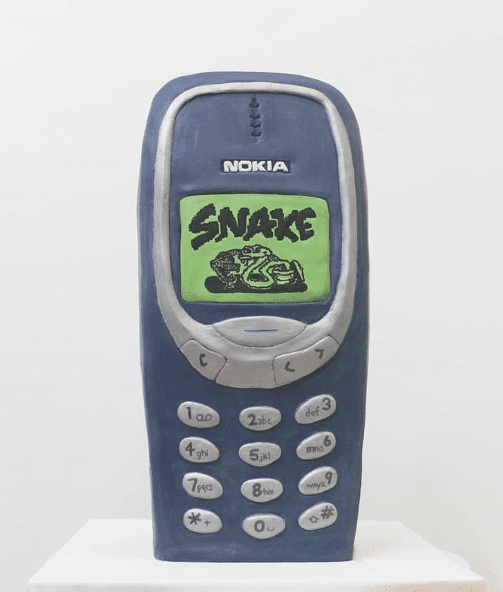 Admirable Nokia Cake Design