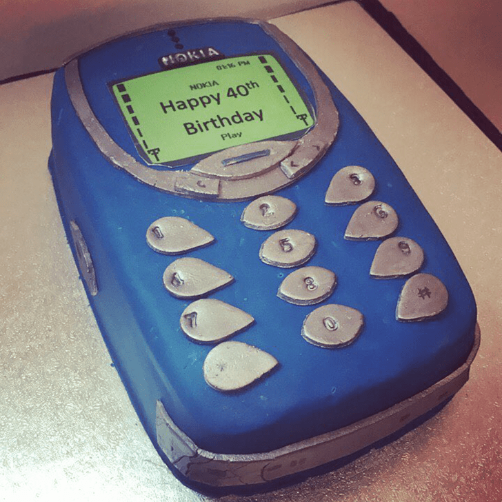 Adorable Nokia Cake