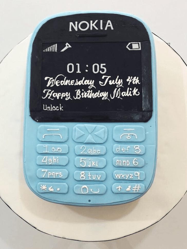 Alluring Nokia Cake