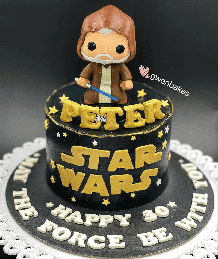 Captivating Obi-Wan Kenobi Cake