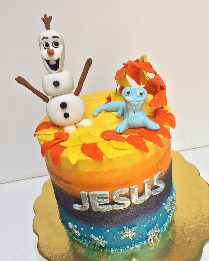Comely Olaf Cake