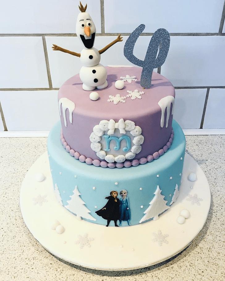 Ravishing Olaf Cake