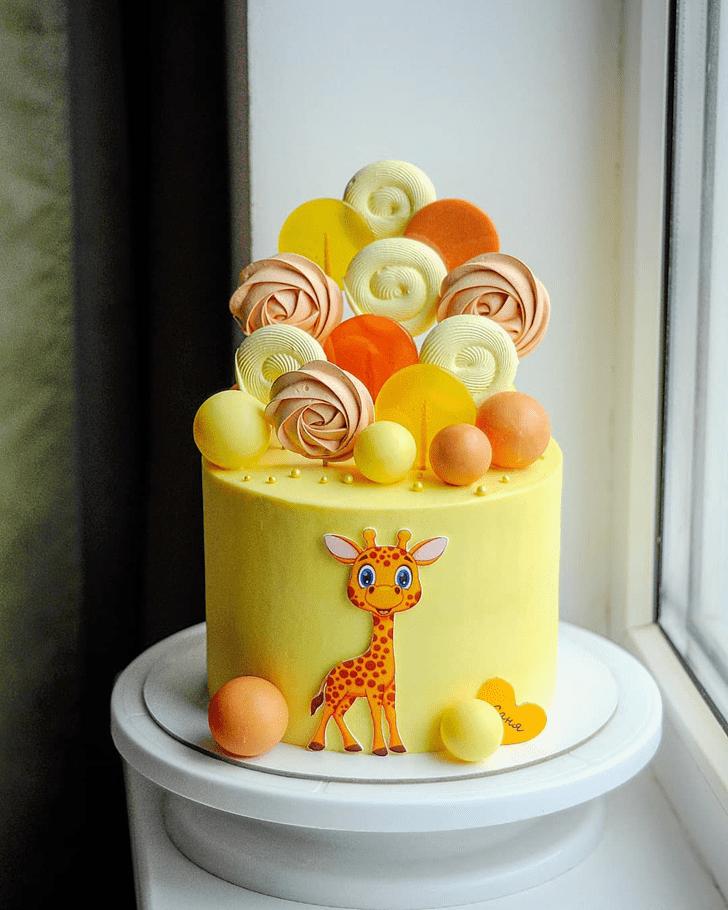 Admirable Orange Cake Design