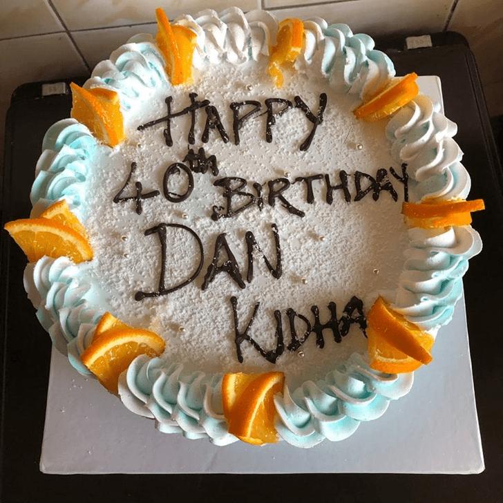 Alluring Orange Cake