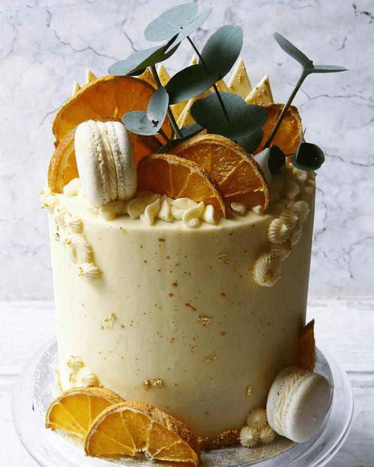 Captivating Orange Cake