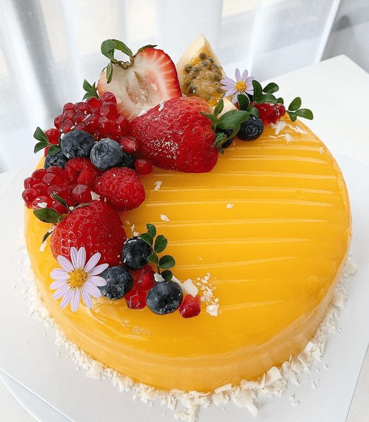 Delicate Orange Cake