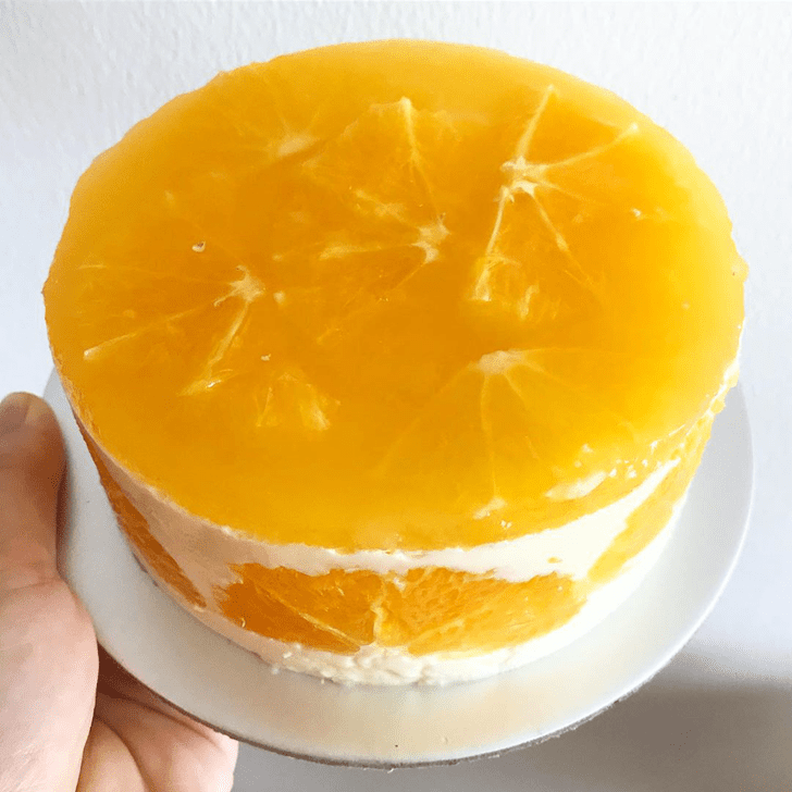 Magnetic Orange Cake