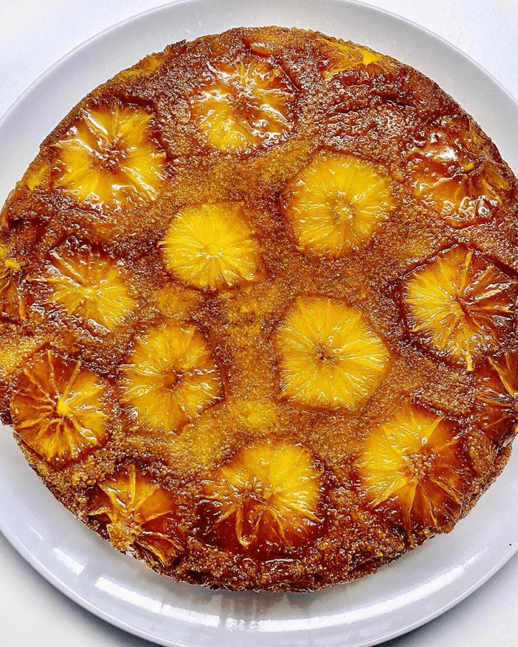 Pleasing Orange Cake