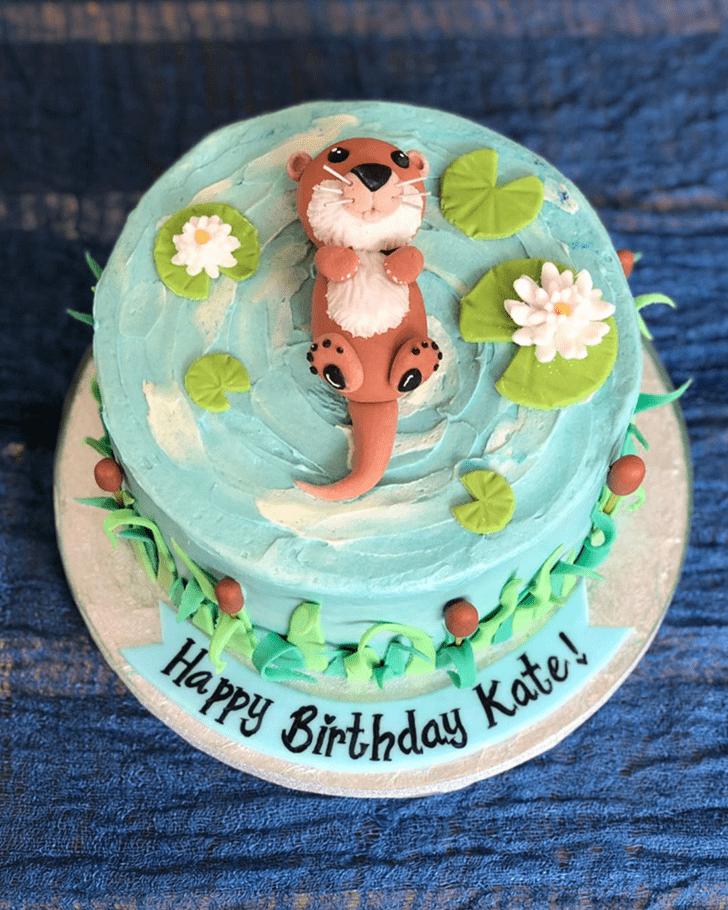 Appealing Otter Cake