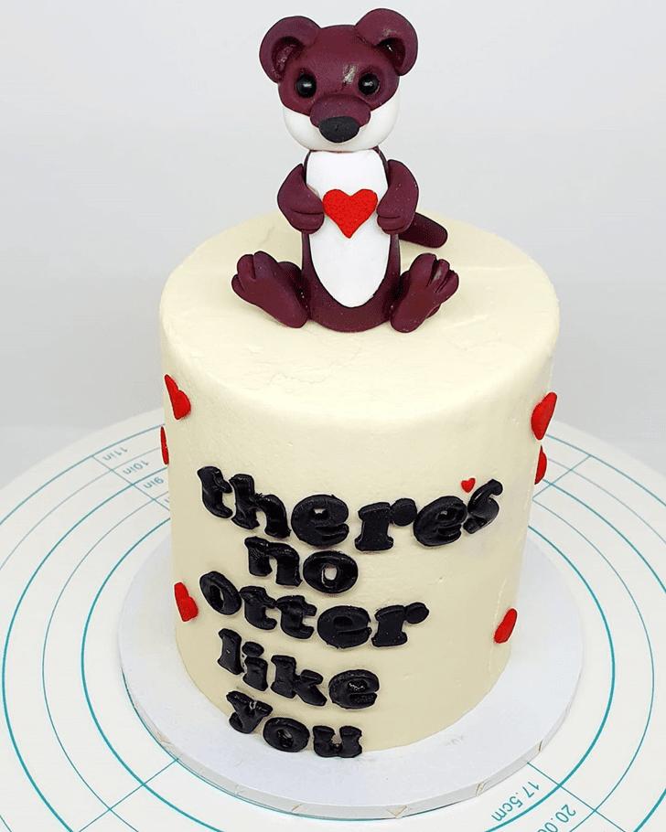 Captivating Otter Cake