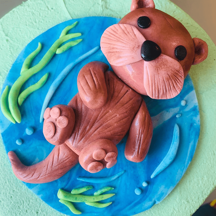 Classy Otter Cake