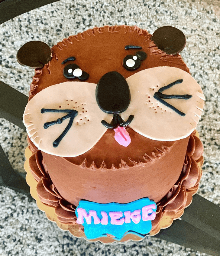 Cute Otter Cake