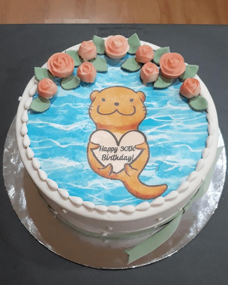 Delicate Otter Cake