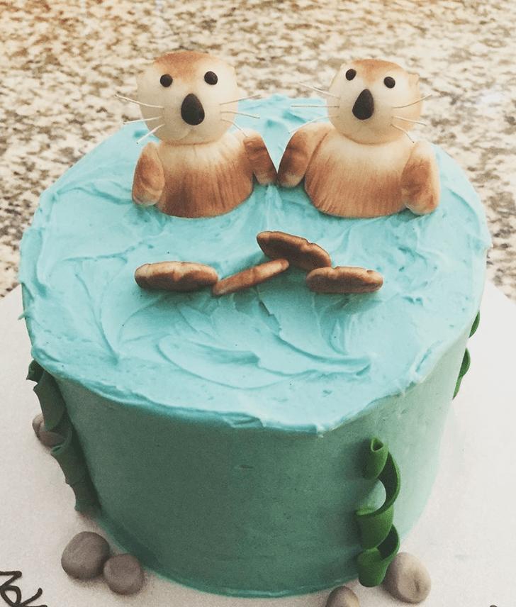 Delightful Otter Cake