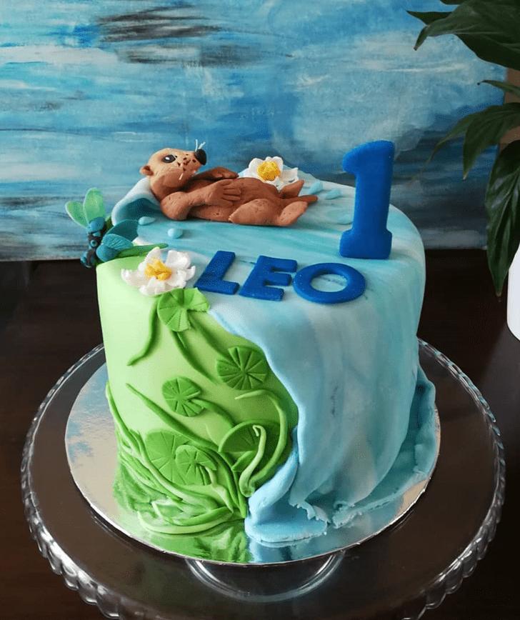 Enthralling Otter Cake