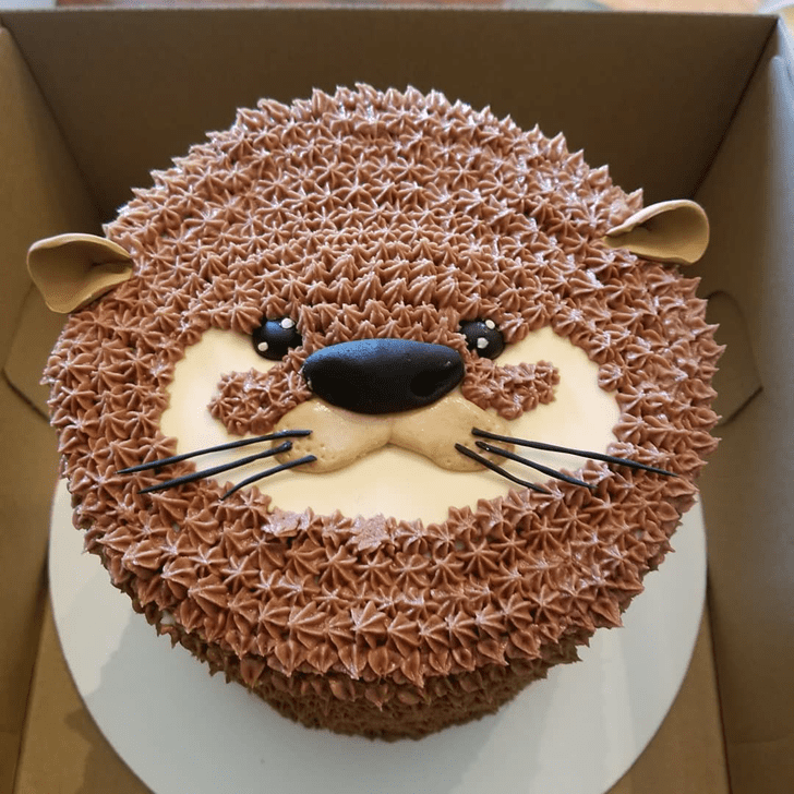 Enticing Otter Cake